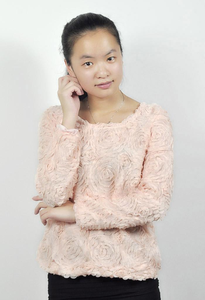Frauen-Dame-Girls Hot Sexy 3D Rose Blume Mesh-Jumper Pullover Hemd Bluse Top   eBay