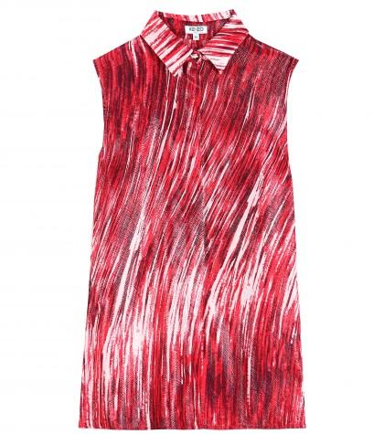 mytheresa.com -  High Waves printed silk-blend shirt - Sleeveless - Tops - Clothing - Luxury Fashion for Women / Designer clothing, shoes, bags