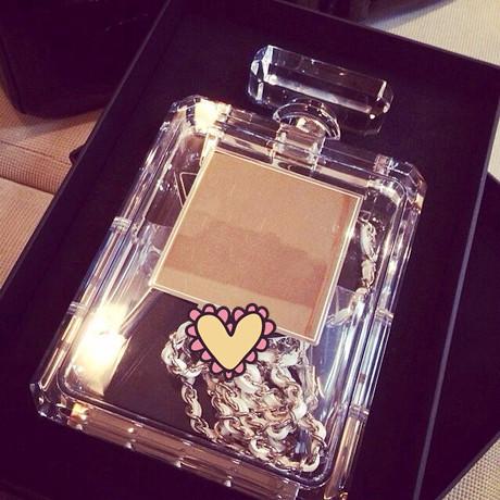 Alu perfume bottle transparent messenger bag shoulder bag on Aliexpress.com