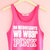 On Wednesdays We Wear Pink Crop Tank Top | Yotta Kilo on Wanelo