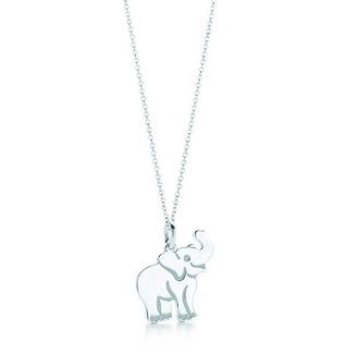 jewels necklace charm elephant tiffany