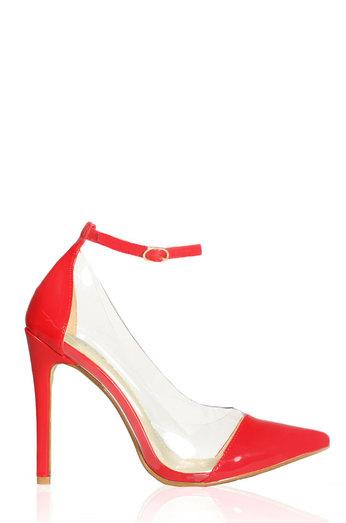 Kai - Red Pat - Lola Shoetique