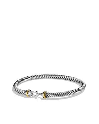 David Yurman Cable Buckle Bracelet - Neiman Marcus