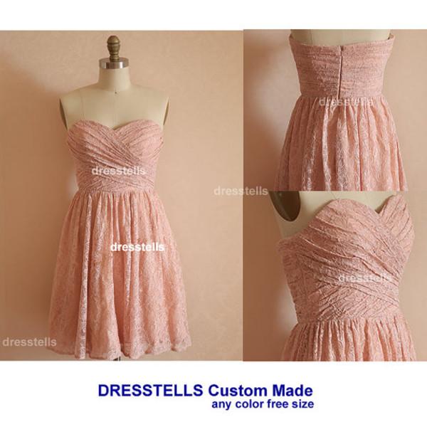 dress bridesmaid bridesmaid pink dress lace bridesmaid dresses