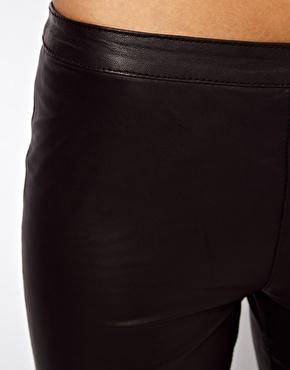 Selected | Selected Sabrina Zip Leather Pants at ASOS