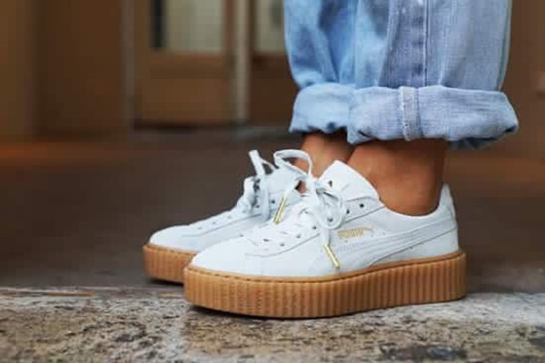 Puma Suede Creepers White