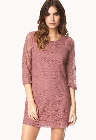 Daydreamer Crocheted Dress | FOREVER21 - 2000126926