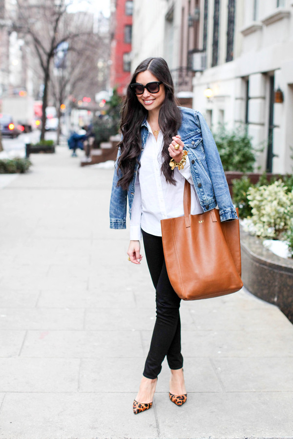 with love from kat jacket jeans shoes bag jewels