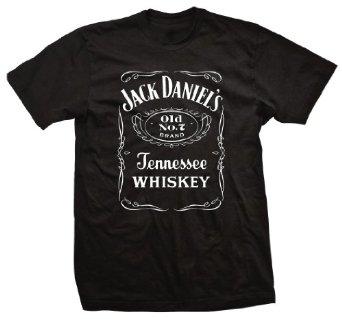 Amazon.com: Jack Daniels Front Label T - Shirt: Clothing