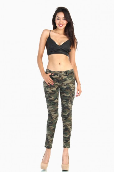 OMG Camo Army Pants with Side Pockets