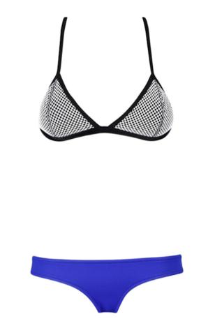 Raw Glitter   David Royal Blue Combo Bikini, Sexy Women's Bikini's   RawGlitter.com