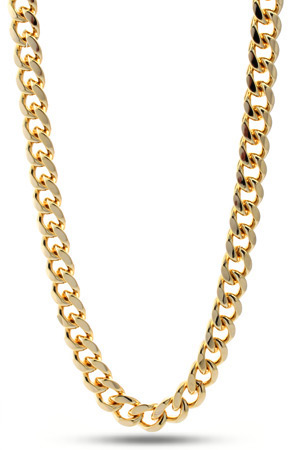 King Ice 11mm Gold Miami Cuban Curb Chain : Karmaloop.com - Global Concrete Culture