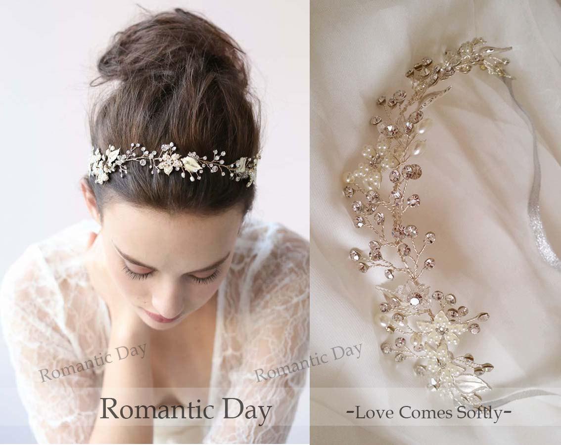Wedding Headbands With Pearls | Fade Haircut