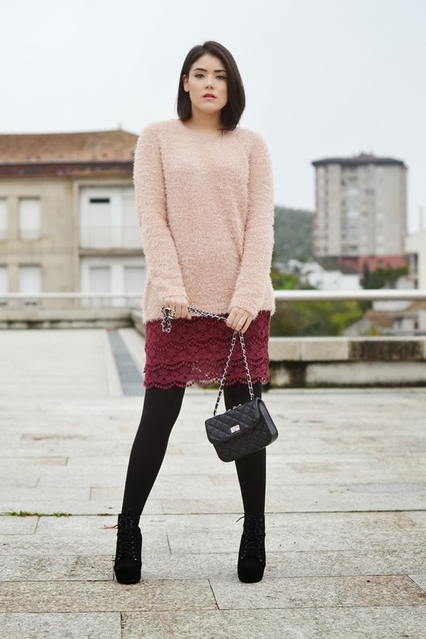 si las calles hablasen skirt sweater jewels shoes