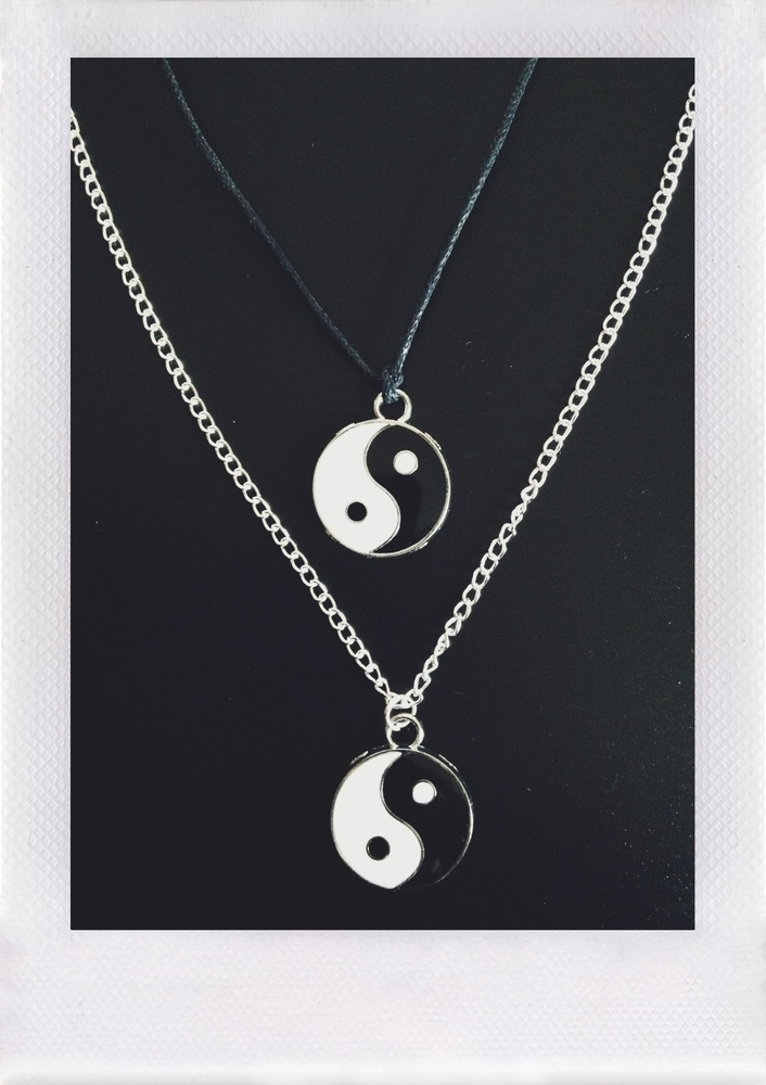 Yin Yang Necklace / Bone Machine