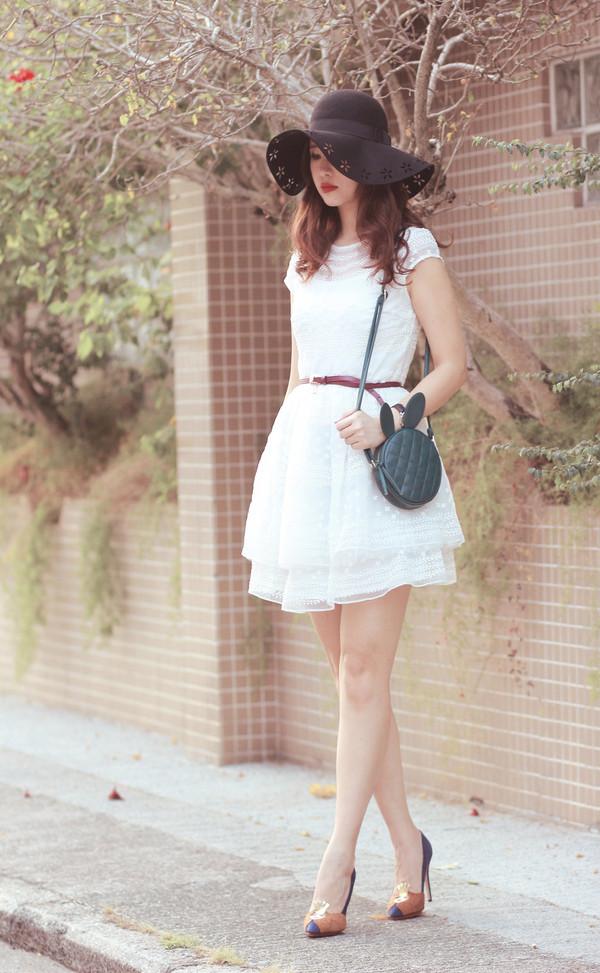mellow mayo hat dress bag shoes jacket t-shirt