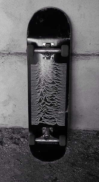 home accessory skateboard joy division