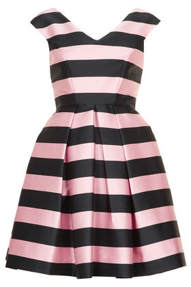 Stripe Prom Dress - Going Out  - Clothing  - Topshop