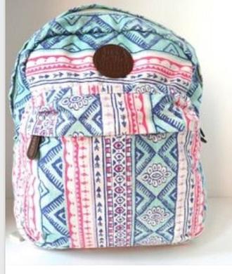 bag pink billabong billabong   tropical backpack