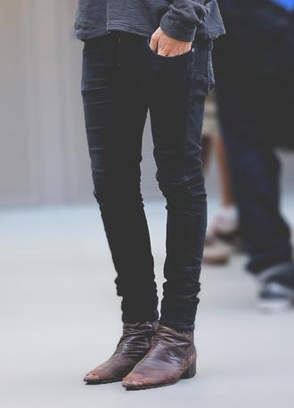 jeans harry styles harry styles shoes menswear black jeans