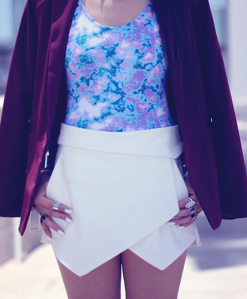 Layered Skort   Outfit Made