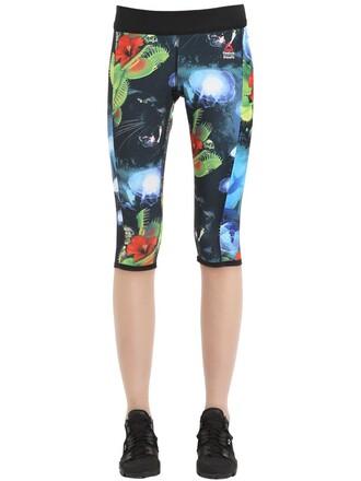 leggings cropped multicolor pants