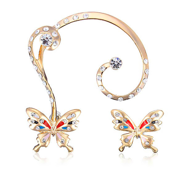 Butterfly Ear Cuff Set   Outfit Made