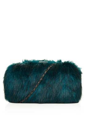 Fur Box Bag - Bags & Purses  - Bags & Accessories  - Topshop