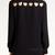 eBay | Women Chiffon Heart Cut Out Back Sheer Point Collar Long Sleeve Shirt Blouse Top