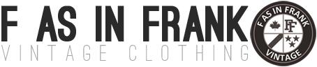 Bucket | F As In Frank