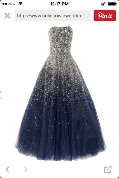 dress blue dress sparkly dress style prom dress glitter dress gown