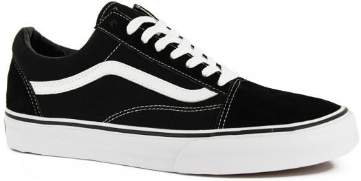 Vans Old Skool Skate Shoes - black/white - Shoes > Men's Footwear > Skate Shoes