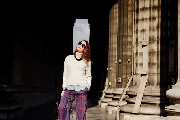 onto my wardrobe sweater shirt pants jewels sunglasses bag shoes