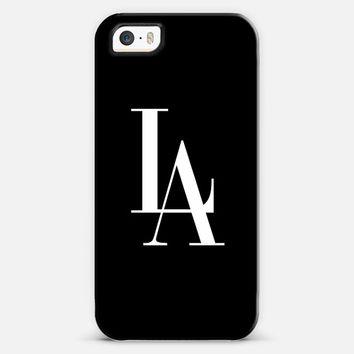 LA Los Angeles Black & White Vogue Typography iPhone 5s case by Rex Lambo | Casetagram on Wanelo