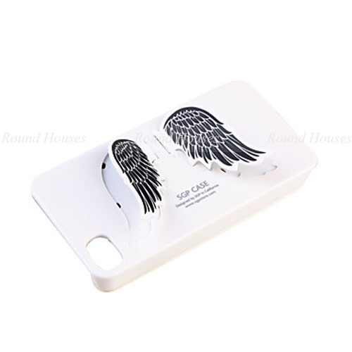 phone case for iphone Picture - More Detailed Picture about Angel Wings Design Back Case with Stand for iPhone 4 / 4G, Angle Wings Cell Phone Case Picture from Round Houses