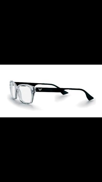 sunglasses eyeglasses readers clear frames black temples