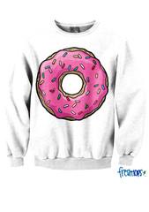 Donut Love Crewneck - Fresh-tops.com