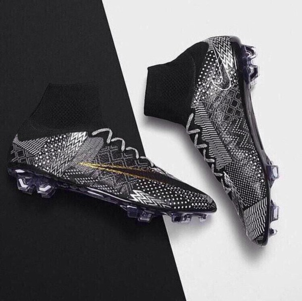 shoes aztec ankle-high soccer cleats