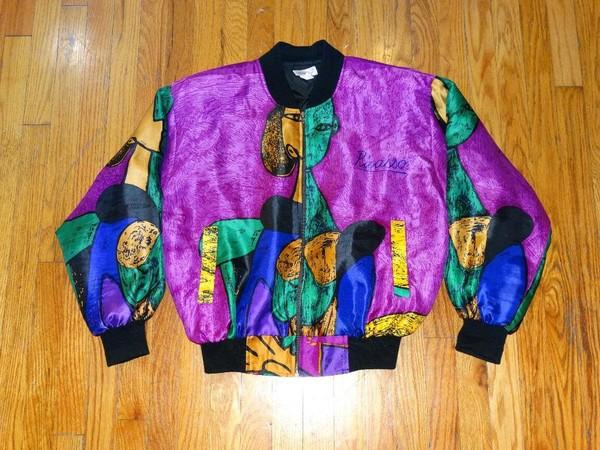 jacket bomber jacket old school