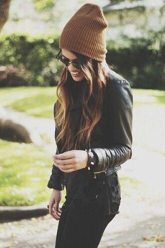 camel mustard wool beanie wool mode blogger camel hat mustard hat brown hat mustard beanie wool hat brown beanie beanie