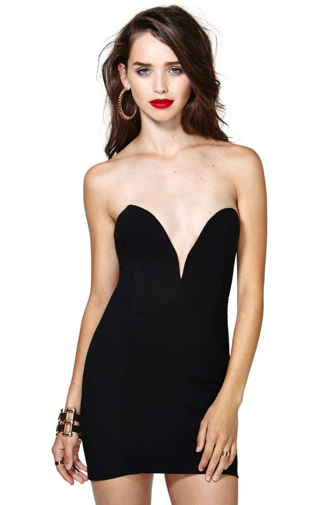 Nasty Gal Helix Dress - Black | Shop Going Out at Nasty Gal