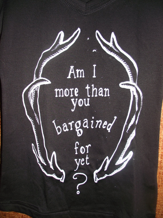 More Than You Bargained For FOBinspired tee by PanicInTheTardis