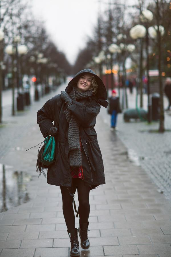zanita coat scarf sweater dress bag shoes