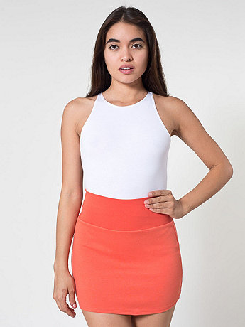Interlock Mini Skirt | American Apparel