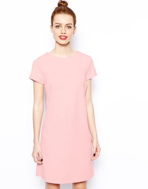 New Look | New Look T-Shirt Textured Dress at ASOS