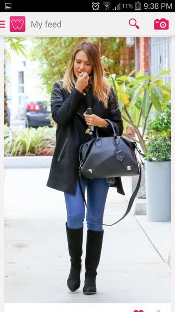 bag jessica alba handbag shoes