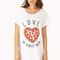 Pizza lover sleep shirt | forever21 - 2000089806