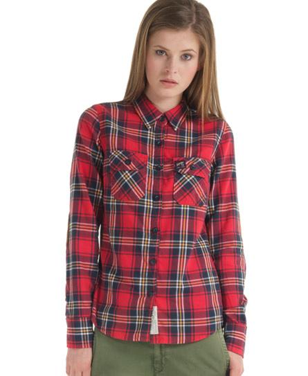 Superdry Western Lumberjack Shirt - Women's Shirts