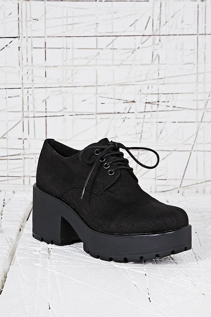 Vagabond - Chaussures noires Dioon en toile à lacets - Urban Outfitters