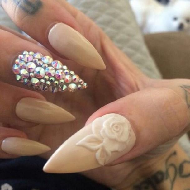 nail accessories designed nails